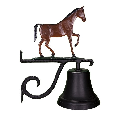 Horse Cast (Montague Metal Products Cast Bell with Color Gaited Horse)