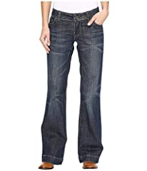 Stetson Sizing Guide  Polish up your trendy look and give all the attention on your legs for once with these appealing jeans. Mid-rise jeans are fitted through the thigh and break at the knee to a wide, flared trouser leg. Stretch, dar...