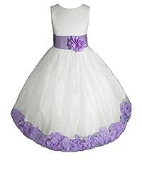 AMJ Dresses Inc Big Girls' Wedding Flower Pageant Holiday Dress