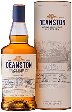 Deanston 12 Year Old Highland Single Malt Scotch Whisky 70 cl