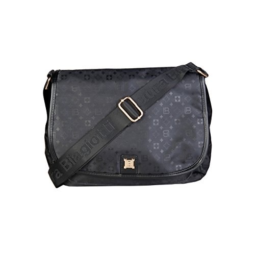 RRP Laura 00 Designer Cross Bag Bag Genuine Biagiotti Black Women £119 Body Crossbody RRrvxSq