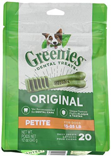 Greenies Dog Dental Chew Treats Petite 12Oz 20Ct For Sale