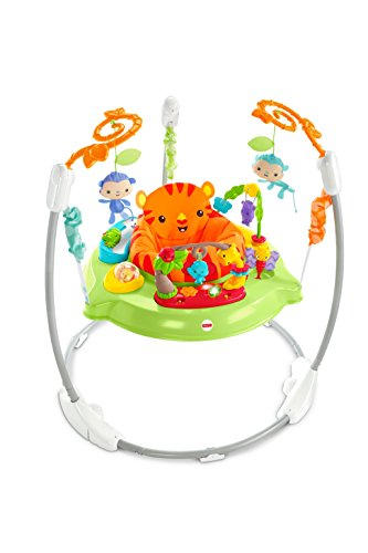 Fisher-Price CHM91 Roaring Rainforest Jumperoo, New-Born Baby Activity...
