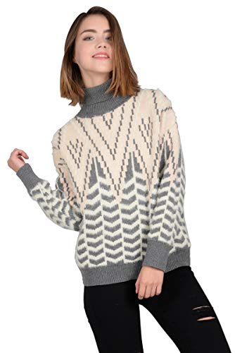Ladies Light Young Xs Grey Bracken Sweater Knitted Molly 6TfEwx