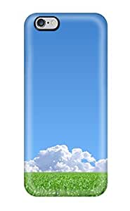 Awesome Case Cover/iphone 6 4.7 Defender Case Cover(green Grass Blue Sky)