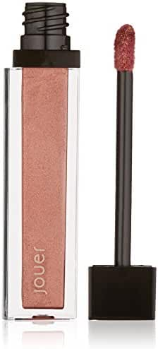 Jouer Long-wear Lip Crème, Metallic Deep Rose Gold, 0.21 fl. oz.