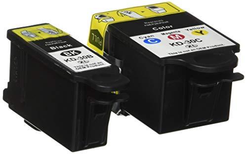 Speedy Inks - Compatible Kodak #30XL Set of Ink Cartridges 1550532 &  1341080 1 Black 1 Color