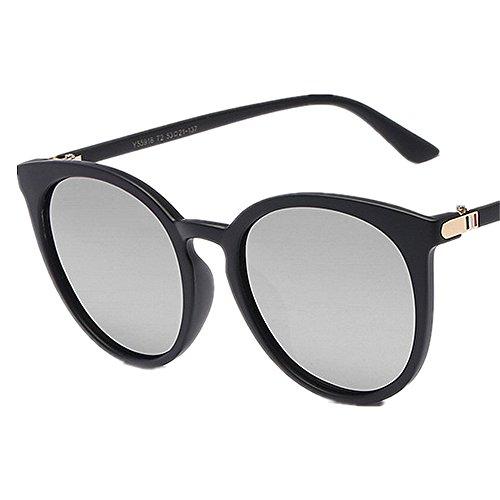 Señoras SunglassesMAN Clásicas de Sol Black Sombras la de Gray Unisex Lente los Yxsd Protectoras Gafas del UV400 de Negra Hombres Estilo Color ar6qtwrIxc