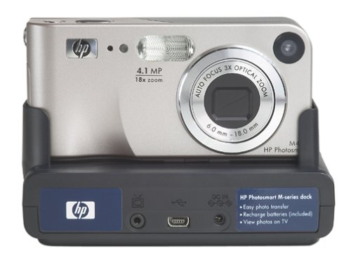 HP Photosmart M407 4MP Digital Camera with 3x Optical Zoom & M-Series Dock