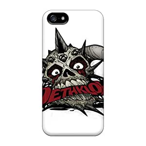 IanJoeyPatricia Apple Iphone 5/5s Great Cell-phone Hard Covers Support Personal Customs Colorful Dethklok Skin [YWI25087DfME]