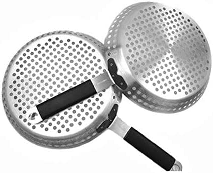 Huante Poêle à rôtir en acier inoxydable avec poignée