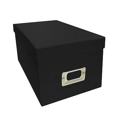 Amazon.com: Pioneer Photo Albums Black CD/DVD Storage Box (Set Of 6): Arts,  Crafts U0026 Sewing