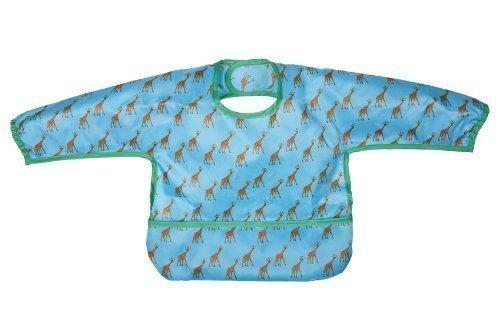 Lassig Waterproof Long Sleeve Bib, Wildlife Giraffe by Lassig