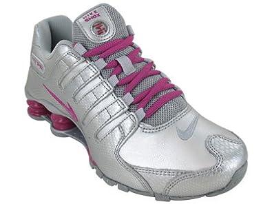 Nike Shox NZ EU Womens Running Shoes 488312-016 Metallic Silver 8.5 M US 0d502c3e7