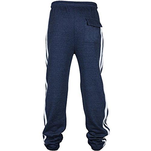 Décontracté À Jogging Pantalon Glissière De Bhydry Et Marine C6t1qng