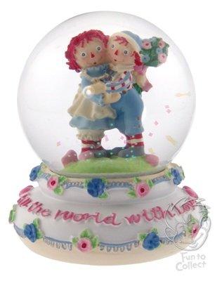 Raggedy Ann & Andy Waterglobe