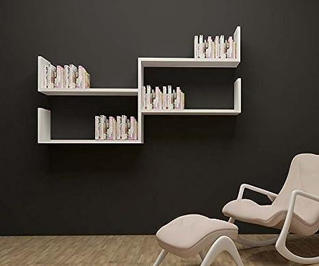 Plus mensola da muro   bianco   mensola parete   mensola libreria ...