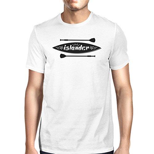 Manches Shirt Taille Unique T Mens Islander White Homme Printing 365 shirt Courtes qPwYx6tBRn