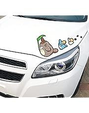 JZLMF Auto persoonlijkheid cartoon Totoro auto sticker creatieve grappige dieren stickers lichaam krassen sticker auto staart decoratie sticker
