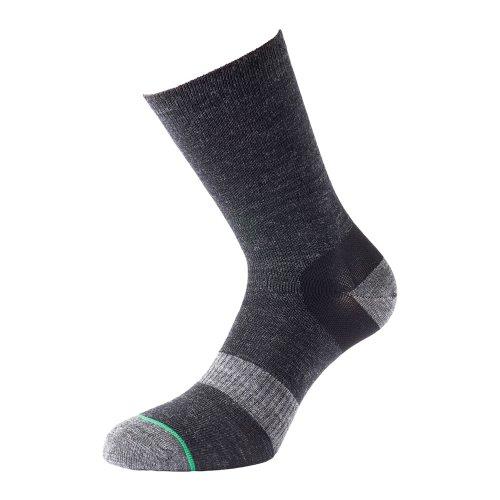 1000 Mile Mens Ultimate Tactel Approach Sock - Comfortable, Walking, Moisture Wicking, Rehabilitation, Soft Nylon/Wool, Boxing, Feet, Training, Large