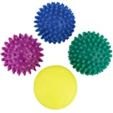 BB Sport massage balls Pack of 4 spiky balls in different sizes and levels of hardness
