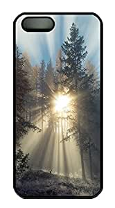 Case For Htc One M9 Cover landscapes nature sunlight trees 39 PC Custom Case For Htc One M9 Cover Cover Black