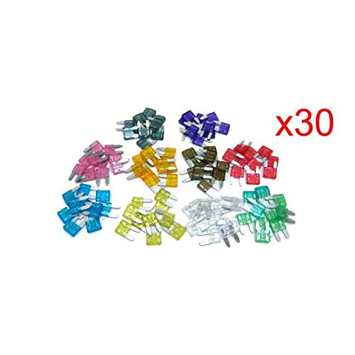 - Promotion! New 30 X Mixed Amp Mini Blade Fuses Car Motorbike Atm Auto Quality Tools
