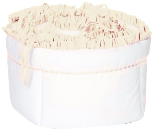 (Baby Doll Bedding Unique Crib Bumper, Ivory)