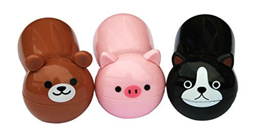 Cute Zoo Animal Chip Bag Clips – 3 Pc Pack – Durable Plastic Clip for Keeping Food Fresh, Organize Kitchen and Office – Perfect for Snacks, Travel & Super Adorable (Bear, Cat, Pig) -