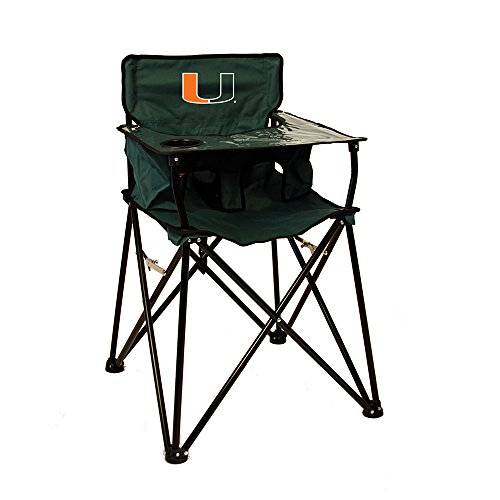 Rivalry Distributing RIV-RV269-1700 Miami Hurricanes NCAA Ultimate Travel Child High Chair by Rivalry Distributing