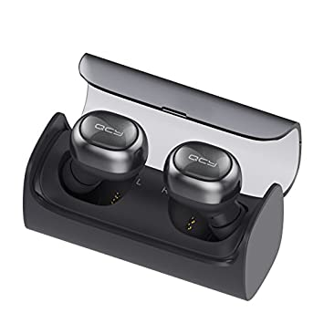 Inalámbrico Earbud, QCY Q29 Mini Dual V4.1 Bluetooth Headphones with Charging Case 12