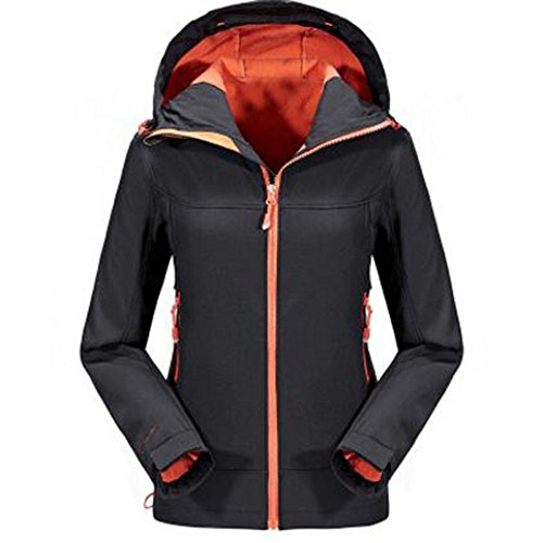 Antivento Fleece Softshell Esterno Spring Sportswear Giacche Nero Impermeabile Donna Warm Da F4YzwTqB