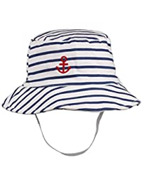 a53011839abeca Kids Toddler Baby Summer Bucket Sun Hat Breathable Adjustable Fisherman Hats