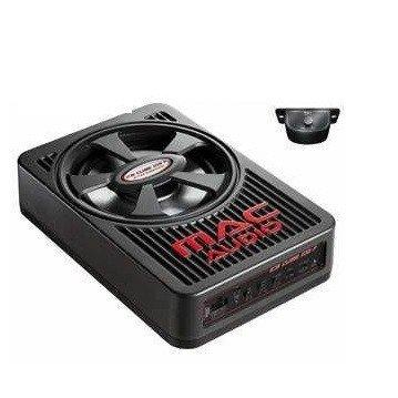 Mac Audio Ice Cube 108 F Aktiver Underseat-Subwoofer mit Digitalverstärker