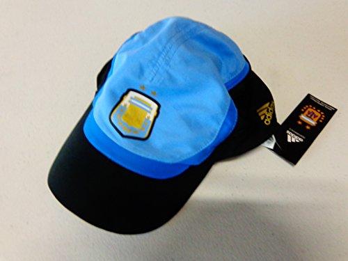 adidas Argentina Football Association World Cup Crest Hat Cap One Size