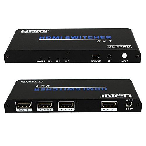 Revesun 1x2 HDMI Splitter 1 in 2 out 1080p HDCP 2.2 4k2k Ultra High Definition Splitter HDMI Box DVI 1.0 3D