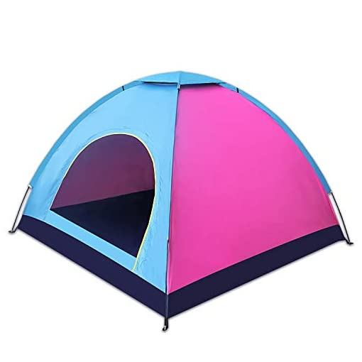 Camping-Tent-Outdoor-Travelite-Backpacking-Light-Weight-Family-Dome-Tent-Pop-Up-Instant-Portable-Compact-Shelter-Easy-Set-Up-170T-Waterproof-Polyester-Fabric-Fiberglass-Rod