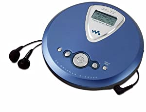 Sony D-NE300 Blue ATRAC/MP3 CD Walkman: Amazon.co.uk: Audio & HiFi
