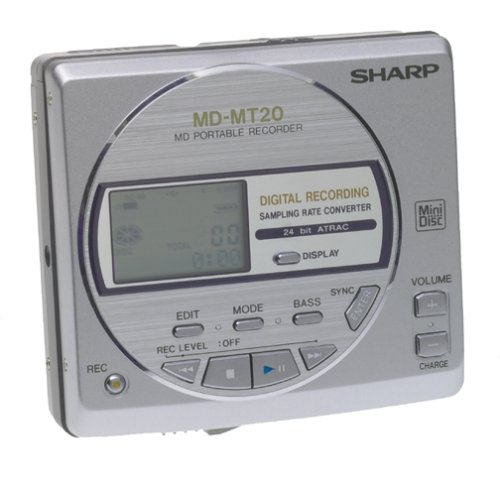 Sharp MDMT20 Minidisc Player Recorder