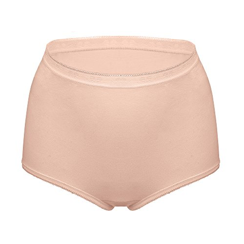Womens Underwear,BESTENA Super Soft Cotton Hipster Panty Multi pack(1 Pack-Nude,X-Large)