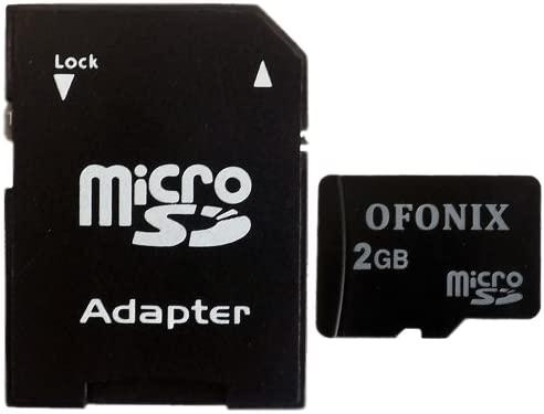 OFonix 2GB MicroSD Tarjeta De Memoria Con Adaptador Para ...