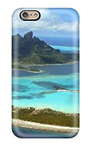 New Style Bora Bora Premium Tpu Cover Case For Iphone 6