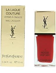 Yves Saint Laurent La Laque Couture Nail Lacquer - # 1 Rouge Pop Art 10ml/0.34oz