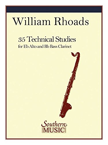35 Technical Studies: Alto or Bass Clarinet