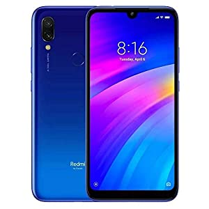 Xiaomi Redmi 7 32Gb+3GB RAM 6.26″ HD+ LTE Factory Unlocked GMS Smartphone (International Version, No Warranty) – Blue