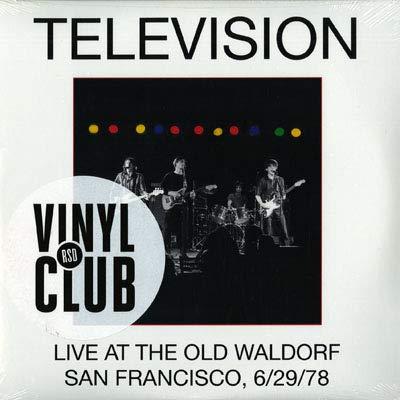 live at the old waldorf, san francisco, 6/29/78 LP (Television Old Waldorf)