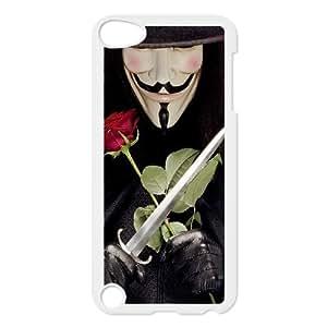 C-EUR Customized Print V for Vendetta Pattern Hard Case for iPod Touch 5