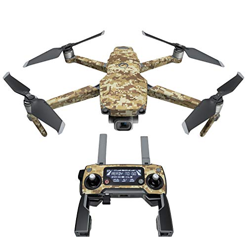 Coyote Camo Decal Kit for DJI Mavic 2/Zoom Drone – Includes 1 x Drone/Battery Skin + Controller Skin Review