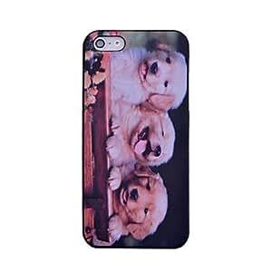 GX lureme el caso duro del patrón de tres perros de 5/5s iphone