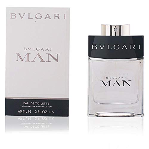 Bvlgari Man by Bvlgari Eau De Toilette Spray, 2 Ounce (The Best Male Fragrance)